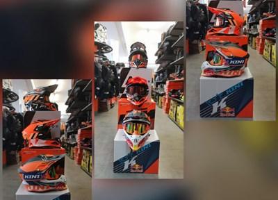 NEWS KTM Motocrosshelme in verschiedenen Designs!