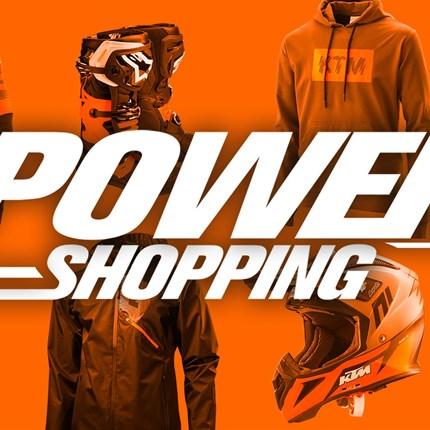 KTM POWERSHOPPING bis zu 30 % sparen !!  KTM POWERSHOPPING bis zu 30 % Rabatt !! Nur so lange der Vorrat reicht!!   *Ausgenommen Kollektion 2021