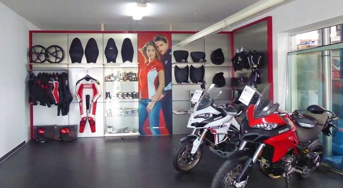 Umgestaltung unseres Ducati- und Scrambler-Showrooms