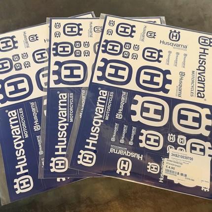 Husqvarna Sticker jetzt erhältlich !!  Husqvarna Sticker jetzt erhältlich !!