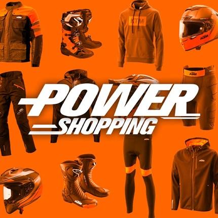 KTM POWERSHOPPING bis zu 50 % Rabatt !!  KTM POWERSHOPPING bis zu 50 % Rabatt !! Nur so lange der Vorrat reicht !!   *Ausgenommen Kollektion 2021