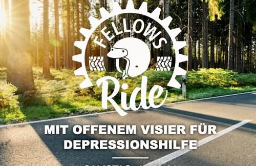 FELLOWS RIDE - MIT OFFENEM VISIER FÜR DEPRESSIONSHILFEE