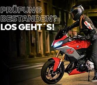 LIETZ-Starthilfe für Dein erstes BMW Motorrad!