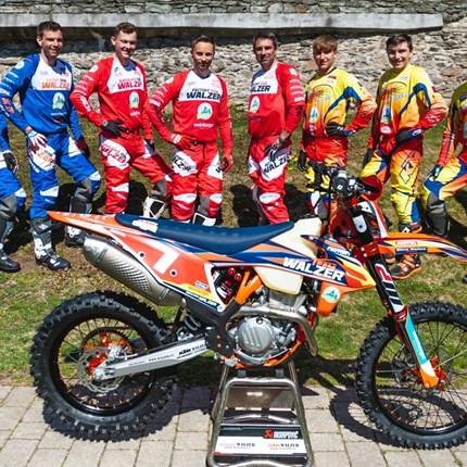 Die KTM und GASGAS Walzer Teamfahrer sind bereit!                                                                ... Weiter >>