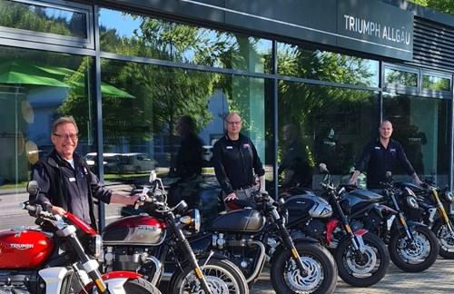 Beratungstermin für euer nächstes Triumph Motorrad!
