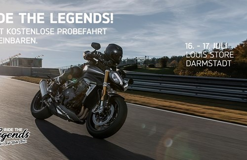 Ride the Legends – Roadster Edition @Louis Store Darmstadt