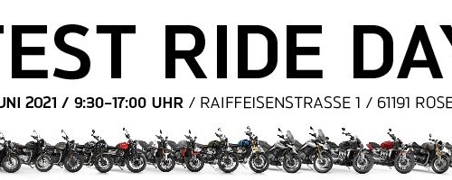 Test ride Day in Rosbach am 26. Juni 2021