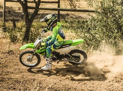 Kawasaki presenta la KLX110R