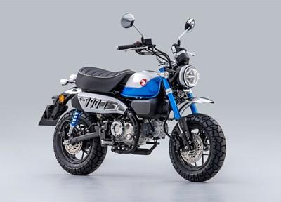 NEWS Honda Monkey 15 Modell 2022 blau