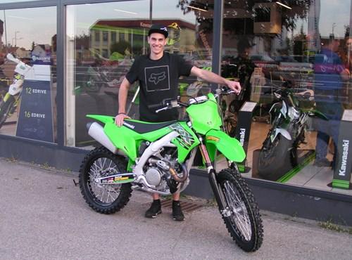 KX 450 bereit für die MX-Strecken !!