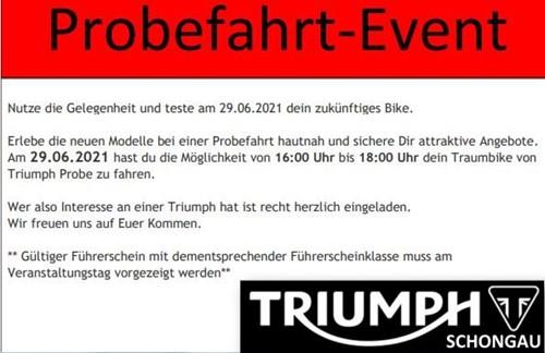 Probefahrt-Event