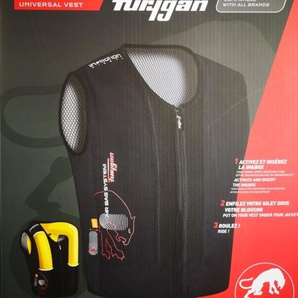FURYGAN FURY AIRBAG SYSTEM passend für jede Jacke!  FURYGAN FURY AIRBAG SYSTEM     - Die autonome Jacke ohne Kabel und ohne Sensoren am Motorrad integrierbar     - ... Weiter >>