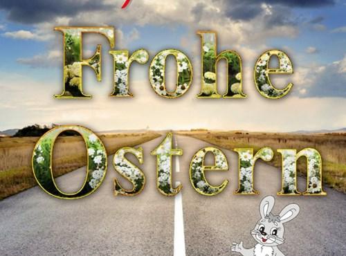 Frohe Ostern wünscht Team Scholly´S
