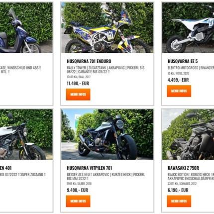 Du suchst ein gebrauchtes Motorrad?  Dann wirst du hier etwas passendes finden ! Sofort verfügbar !Sofort verfügbar !