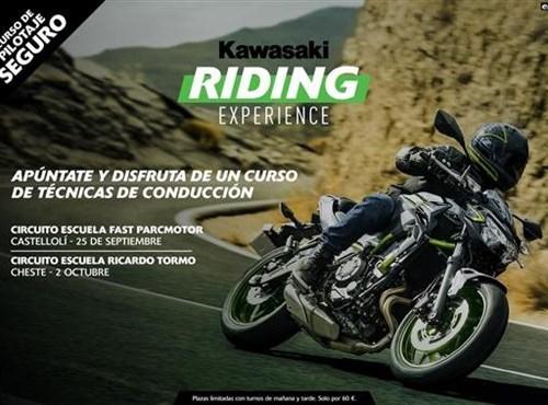 Kawasaki Riding Experience: Curso de pilotaje seguro