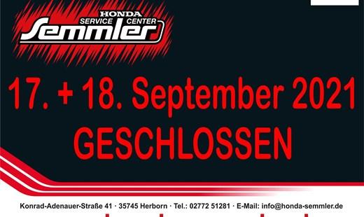 Honda Semmler - WICHTIGE INFO !