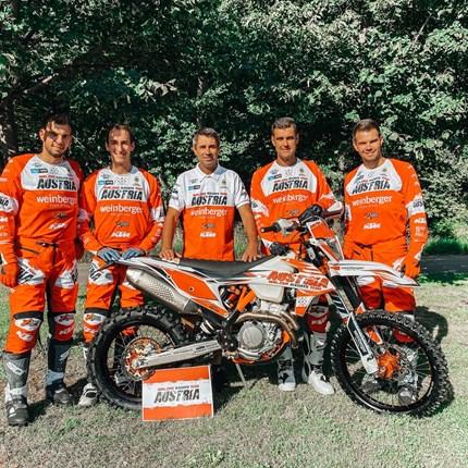 Das österreichische Nationalteam beim FIM International 6 Days of Enduro Rennen in Italien!  Das österreichische Nationalteam beim FIM International 6 Days of Enduro Rennen in Italien!  KTM Walzer präsentiert stolz ... Weiter >>