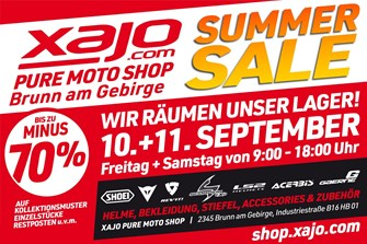 NEWS xajo summer sale im Retailshop