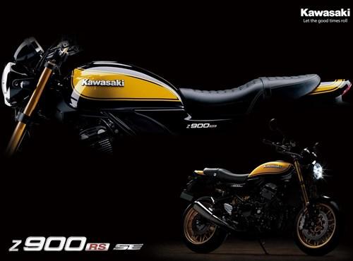 Die neue Kawasaki Z 900 RS SE 2022 - jetzt bestellen !