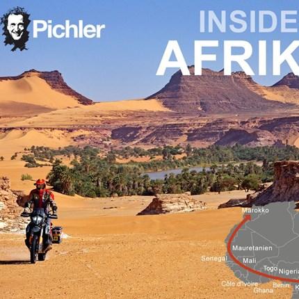 Vortrag Joe Pichler - 21.10.2021  Joe Pichler Live Reportage - 21.10.2021 Inside Afrika - 22.000 Kilometer durch Wüste, Busch und Regenwald  Wann: DO. ... Weiter >>