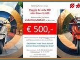 Jetzt Zubehörgutschein zur Piaggio Beverly 300 & 400!
