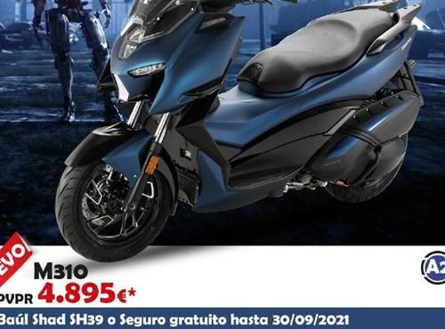 Nuevo scooter Zontes M310