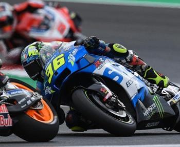 MotoGP in Misano: Harte Kämpfe und Pech für Rins bescherten dem Suzuki ECSTAR Fahrer trotz Spitzentempo einen Ausfall, sein ... Weiter >>