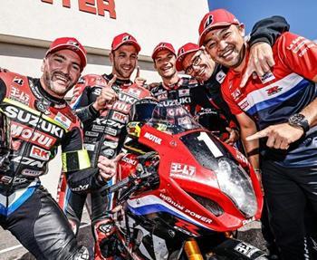 Eine Runde vor dem Finale sicherte sich das Yoshimura SERT Motul Team den Sieg beim Bol d´Or in Le Castellet und fährt einen ... Weiter >>