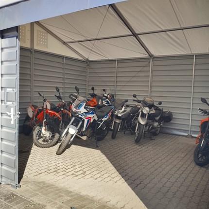 Neue Halle für Winter-Einlagerung  Wisst ihr nicht, wo ihr euer Motorrad im Winter unterbringen sollt? Dann kommt zu uns und lasst es einfach sowie preiswert ... Weiter >>