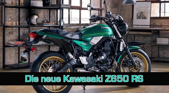 Die neue Kawasaki Z650 RS!
