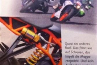 Bild zum Bericht: KTM RC390 Reitwagen Tuningprojekt - Stage 1