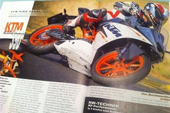 Bild zum Bericht: Forschungsexperiment: Reicht die KTM RC390?