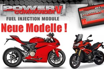 Bild zum Bericht: Dynojet Power Commander für viele neue Motorradmodelle!