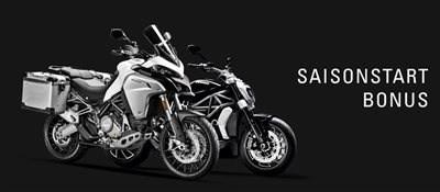 Ducati-Saisonstart-Bonus - jetzt !