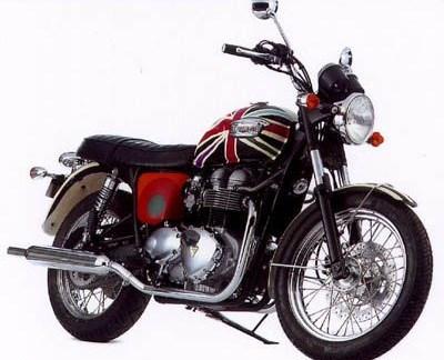 Triumph Motorräder vom Designerlabel