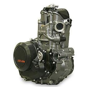Der neue KTM 690 LC4 Motor  Der LC4 Motor als Vorbote für die neue Motorradgeneration von KTM. Stärker , leichter, besser. Über 60 PS, weniger Gewicht, ... Weiter >>