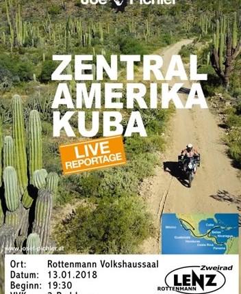Joe Pichler - Zentralamerika Kuba  Zentralamerika & Kuba Abenteuer pur auf über 19.000 km: Renate und Joe Pichler durchstreifen auf ihrer KTM ganz ... Weiter >>