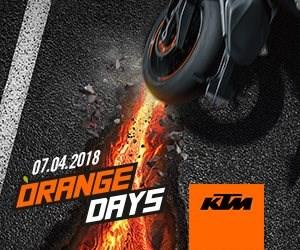 07.04.2018 KTM ORANGE DAY Liebe Kunden  Am 07.04.2018 ist es wieder soweit, der KTM ORANGE DAY kommt wieder zu uns nach Österreich  Alle KTM Straßen Mod... Weiter >>
