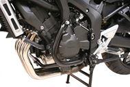 SW-MOTECH Sturzbügel. Schwarz. Yamaha FZ 6 / Fazer (03-10).