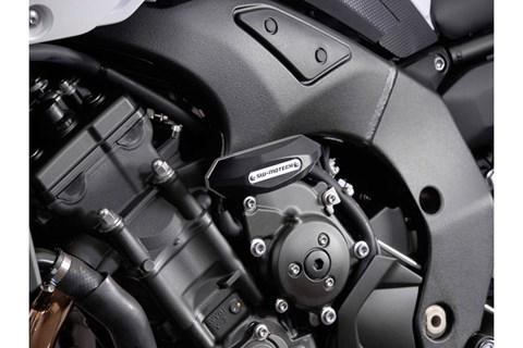 SW-MOTECH Sturzpad-Kit. Schwarz. Yamaha FZ8/FZ8 Fazer (10-).