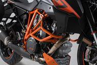 SW-MOTECH Sturzbügel. Orange. KTM 1290 Super Duke R / GT.