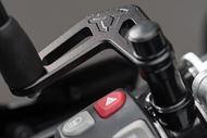 SW-MOTECH Spiegelverlängerung für BMW. Schwarz. Für Spiegelgewinde. Max. Verlegung: 66mm.