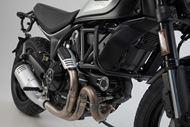 SW-MOTECH Sturzbügel. Schwarz. Ducati Scrambler Modelle.