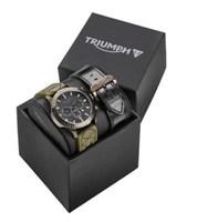 Genuine Triumph Mens Watch Gift Set MWSA16210