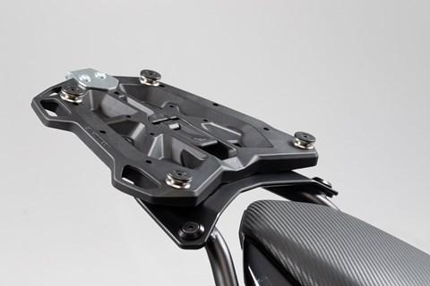 SW-MOTECH Adapterplatte für STREET-RACK Gepäckträger. Für TRAX Topcase ADV/ION/EVO. Schwarz.