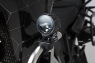 SW-MOTECH EVO Fernscheinwerfer-Kit Universal. Schwarz. Mit Sturzbügelklemmen für Scheinwerfer.