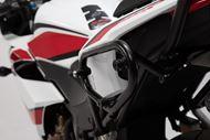 SW-MOTECH SLC Seitenträger links. Honda CB500F (16-18), CBR500R (16-18).