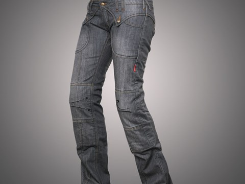 4SR - Jeans Lady Star Grey Gr:42