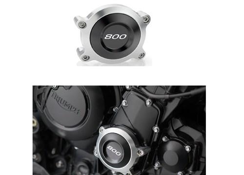 Sturzpads Motordeckel rechts Triumph Tiger 800 Baujahr 11- statt € 140 nur €70