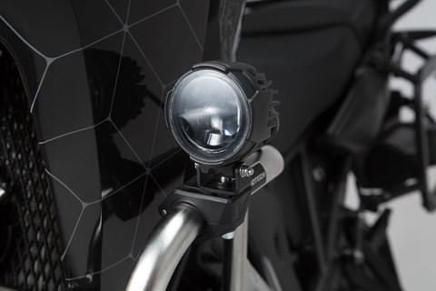 SW-MOTECH EVO Fernscheinwerfer-Kit. Schwarz. Kawasaki Versys 1000 (18-).
